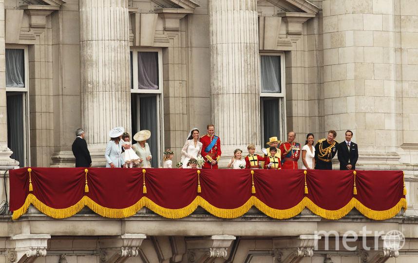 Свадьба принца Уильма и Кейт Миддлтон, архив 2011. Фото Getty