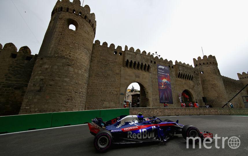 Гран-при Азербайджана в Баку. Фото Getty