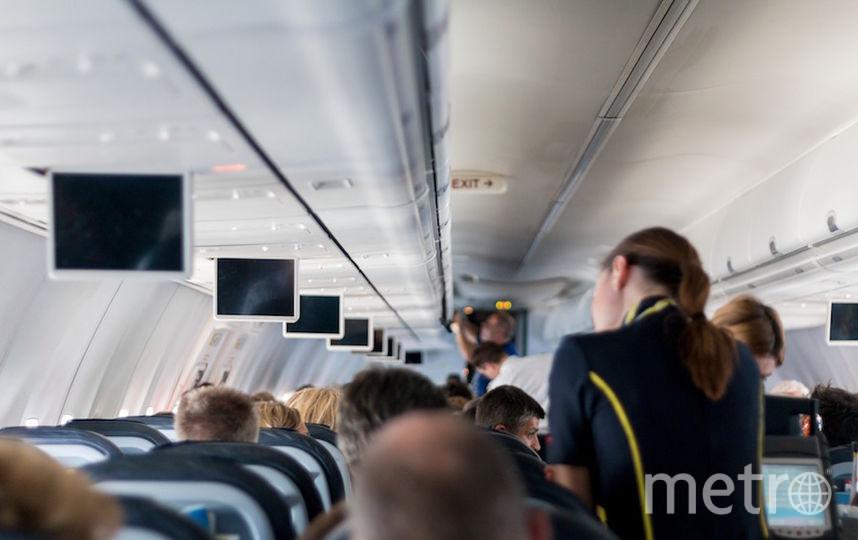 Стюардесса перед началом рейса (архивное фото). Фото pixabay.com