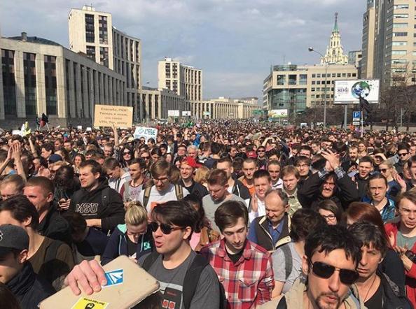 Роскомнадзор с 16 апреля начал блокировать Telegram. Фото https://www.instagram.com/kuntsevo.msk/