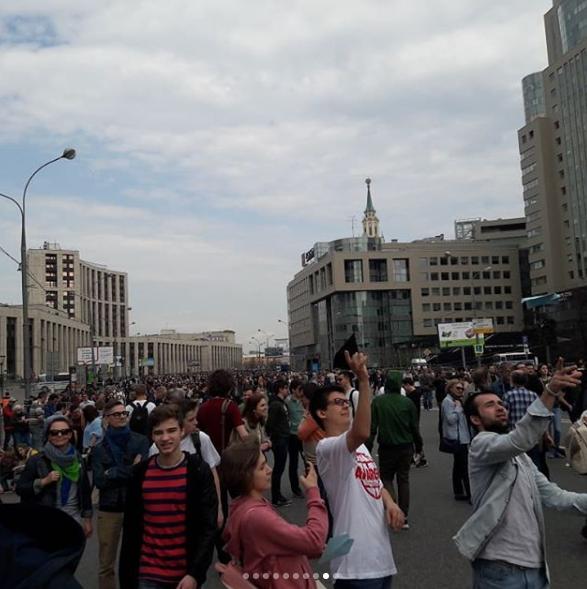 Роскомнадзор с 16 апреля начал блокировать Telegram. Фото https://www.instagram.com/elena_white_ru/