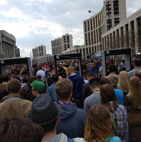 Роскомнадзор с 16 апреля начал блокировать Telegram. Фото https://www.instagram.com/sunny_boy_0/