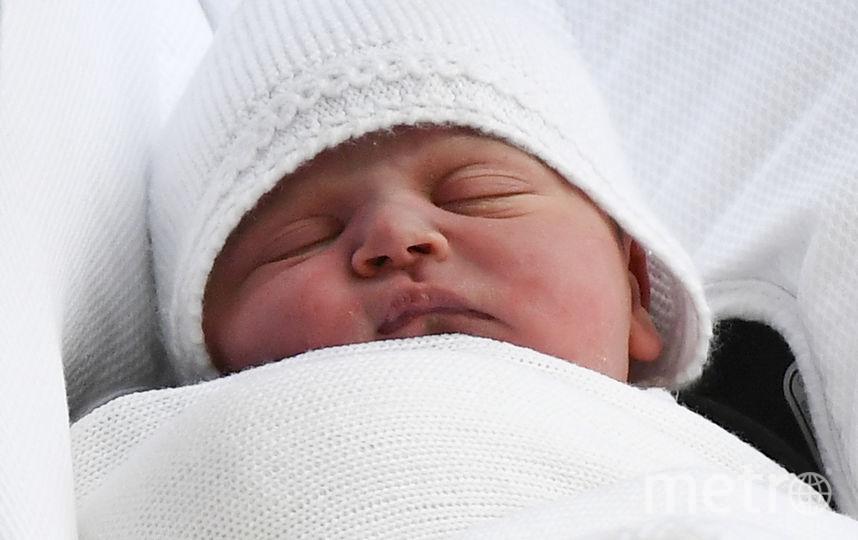 Мальчика назвали Луи Артур Чарльз. Фото AFP