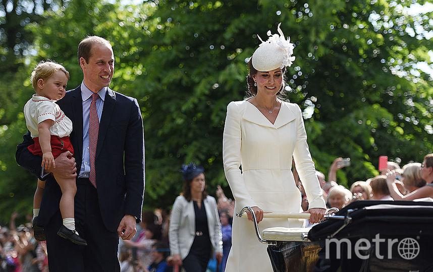Кейт Миддлтон, принц Уильям, принц Джордж, принцесса Шарлотта, фотоархив. Фото Getty