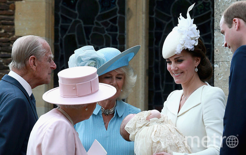 Кейт Миддлтон, принц Уильям и принцесса Шарлотта, фотоархив. Фото Getty