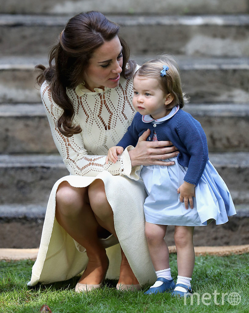 Кейт Миддлтон и принцесса Шарлотта, фотоархив.