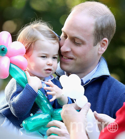 Принц Уильям и принцесса Шарлотта, фотоархив.