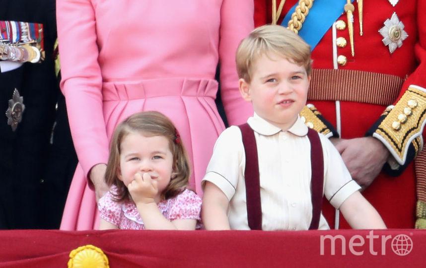 Кейт Миддлтон, принц Уильям, принц Джордж и принцесса Шарлотта, фотоархив.