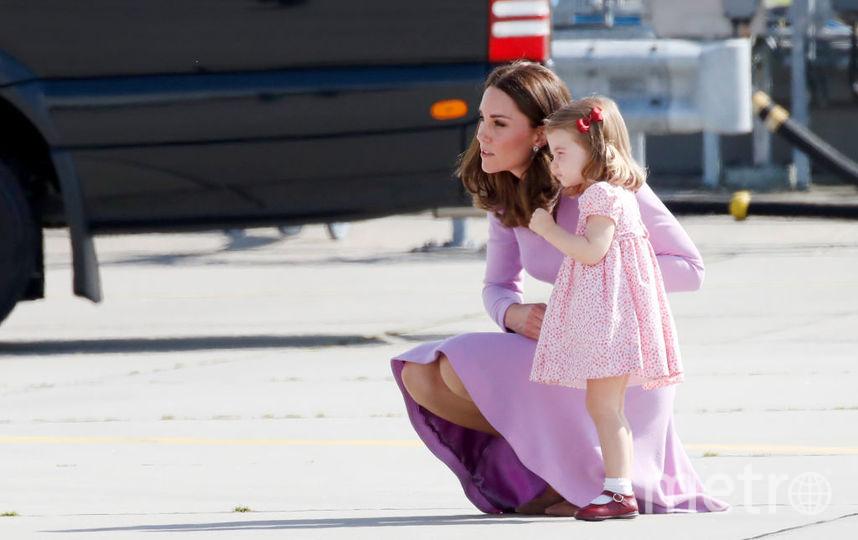 Кейт Миддлтон и принцесса Шарлотта, фотоархив. Фото Getty