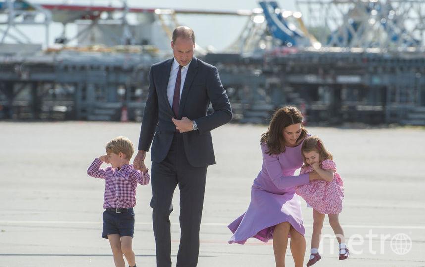 Кейт Миддлтон, принц Уильям, принц Джордж и принцесса Шарлотта, фотоархив. Фото Getty