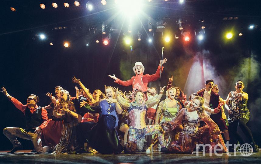 """""""Величайший шоумен"""". Фото Театральная компания «Московский Бродвей»."""