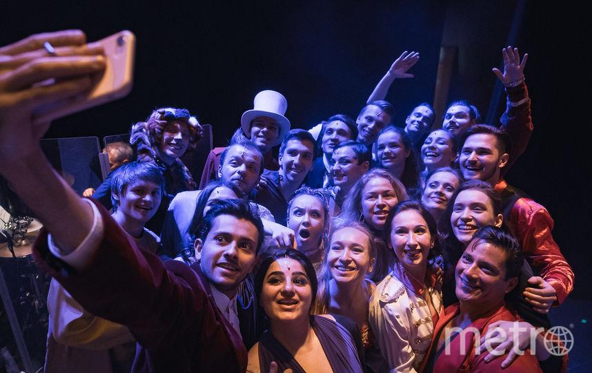 Участники мастерских. Фото Театральная компания «Московский Бродвей».