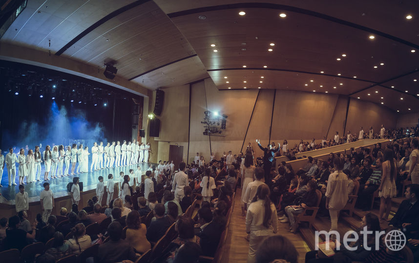 Финал шоу. Фото Театральная компания «Московский Бродвей».
