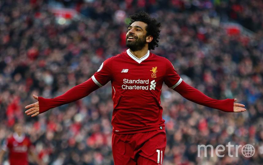 """Нападающий """"Ливерпуля"""" Салах один из лучших футболистов нынешнего розыгрыша Лиги чемпионов. Фото Getty"""