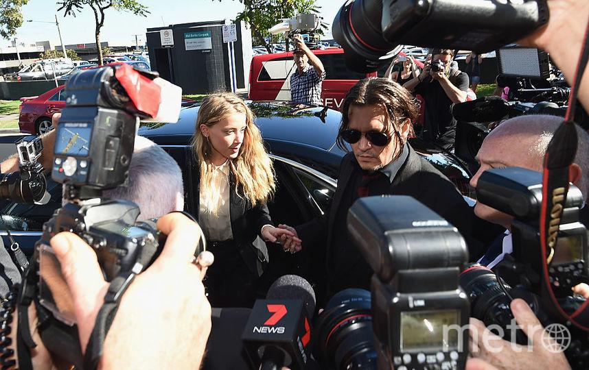 На Джонни Деппа подали в суд собственные охранники. Фото Getty