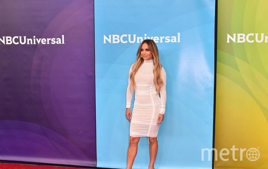 Дженнифер Лопес на мероприятии студии NBCUniversal. Фото Getty
