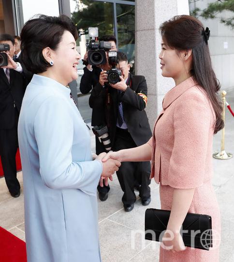 Ли Соль Чу и жена президента Южной Кореи. Фото Getty