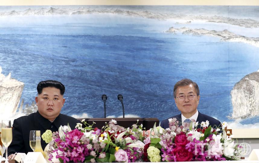 Фото с полей саммита в Южной Корее. Фото Getty
