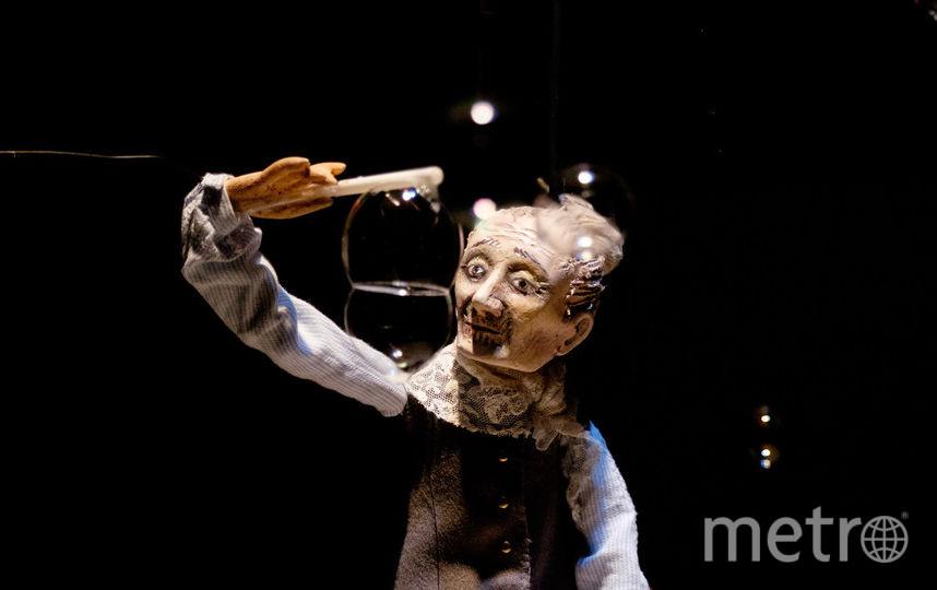 """Театр """"Кукольный формат"""" поставил скетч про стариков и старушек. Фото Алена Бобрович., """"Metro"""""""