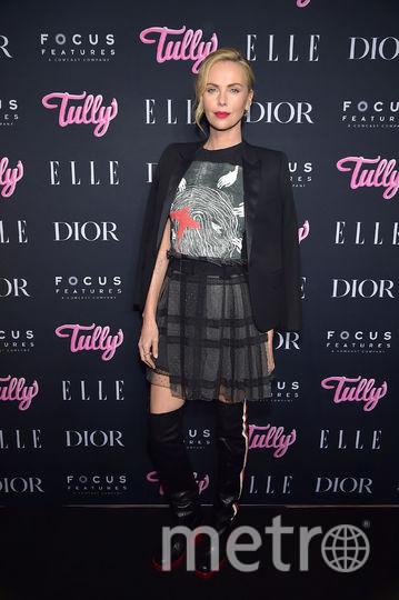 """Шарлиз Терон на премьере фильма """"Талли"""" в Нью-Йорке. Фото Getty"""
