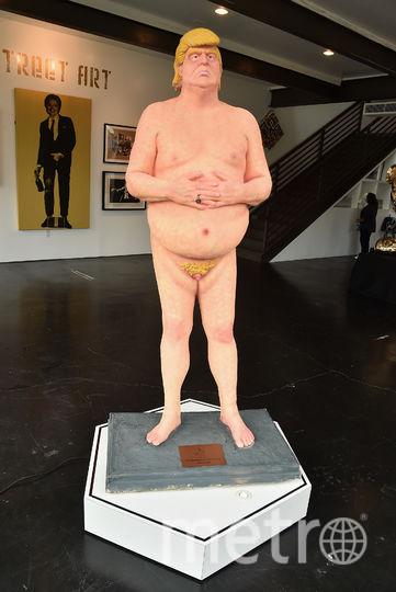 Статуя голого Трампа будет стоять в музее в Лас-Вегасе. Фото Getty