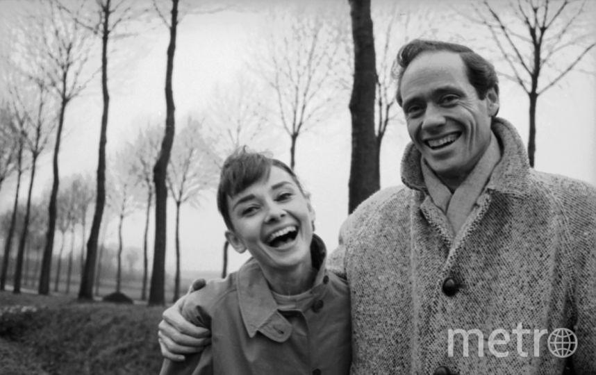 Одри Хепберн со своим первым мужем Мелом Феррером. Фото Getty