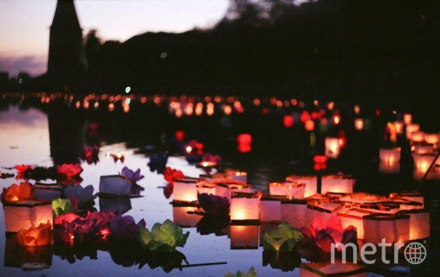 Фестиваль водных фонариков. Фото Предоставлено организаторами