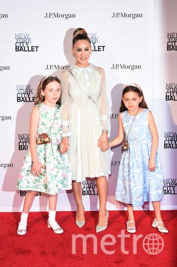 Сара Джессика Паркер с дочками на NYC Ballet 2018 Spring Gala. Фото Getty