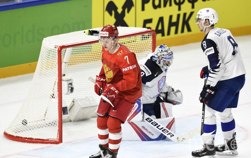 Россияне победили французов на старте чемпионата мира по хоккею. Фото AFP
