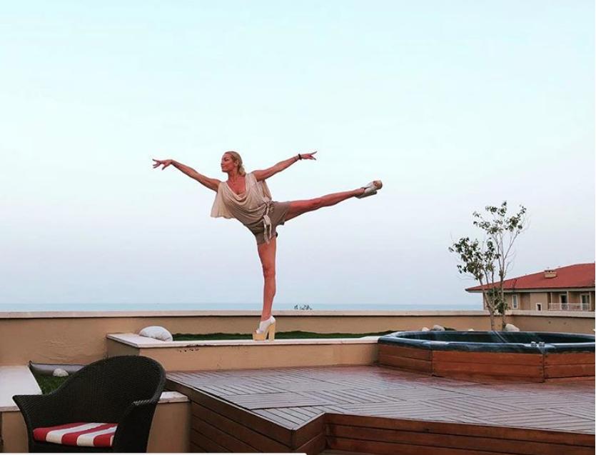 Волочкова на отдыхе в Турции. Фото instagram.com/volochkova_art