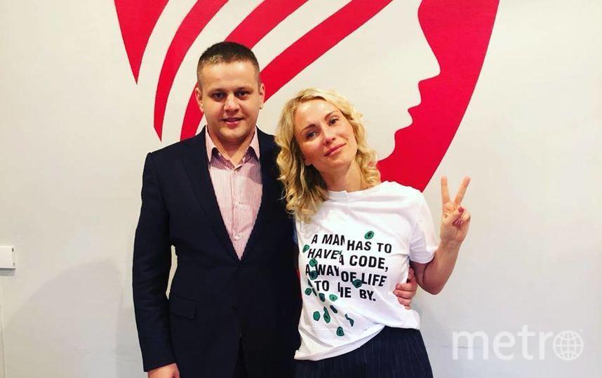 Екатерина Гордон и Игорь Востриков. Фото https://www.facebook.com/ekaterina.gordon