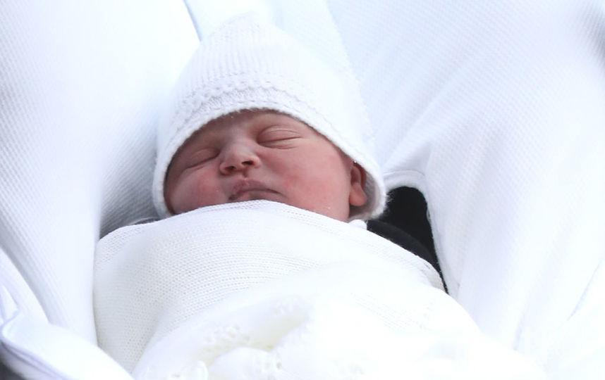 Новорожденный принц Луи, фоторахив. Фото Getty