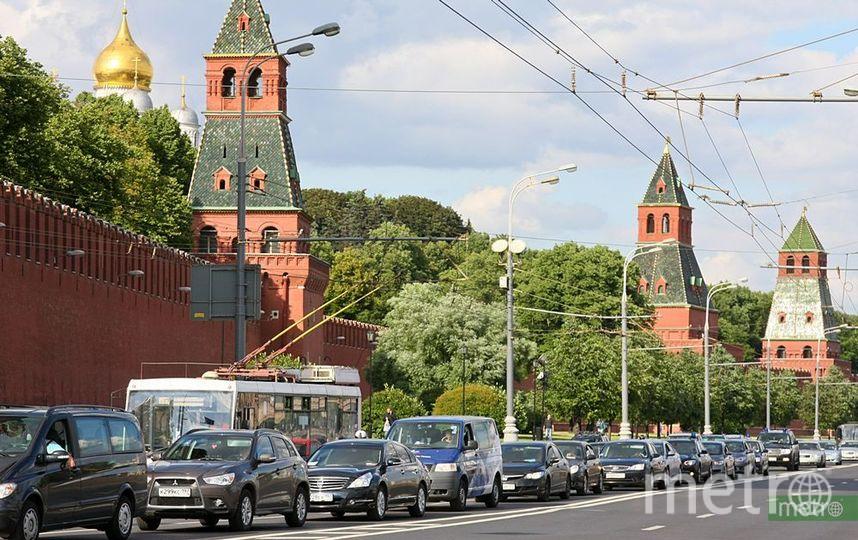 Центр Москвы перекроют в связи с инаугурацией президента. Фото Василий Кузьмичёнок