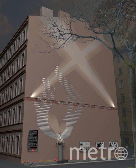 Так будет выглядеть мемориал, когда обретёт законченный вид. Фото эскиз проекта