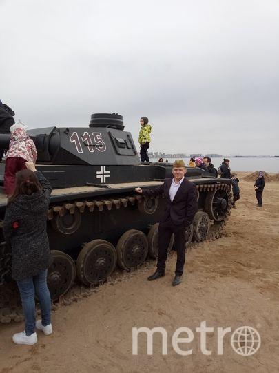 Пётр Назаров чудом выжил под танком в парке 300-летия. Фото из архива Петра Назарова