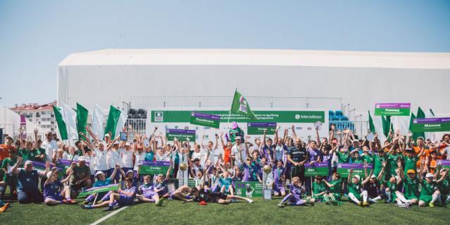 В Сочи прошёл финал футбольного турнира среди детей-сирот.