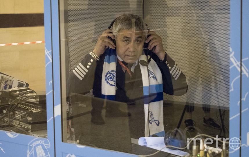 "Радио ""Зенит"" вещало из метро. Фото Святослав Акимов, ""Metro"""