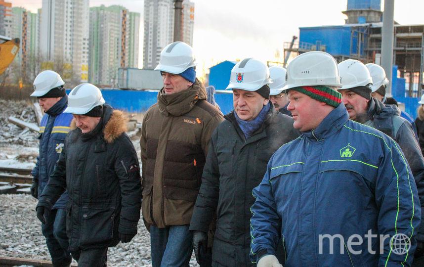 Ход строительства на январь 2018. Фото gov.spb.ru
