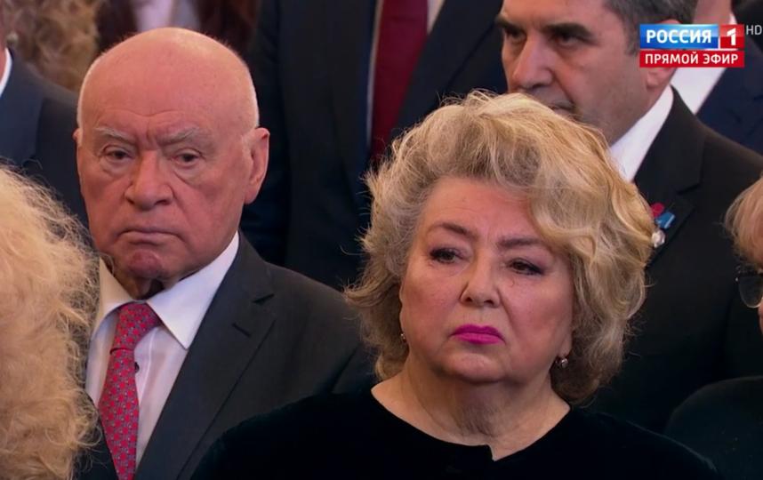 Гости инаугурации Путина. Татьяна Тарасова. Фото Скриншот Youtube