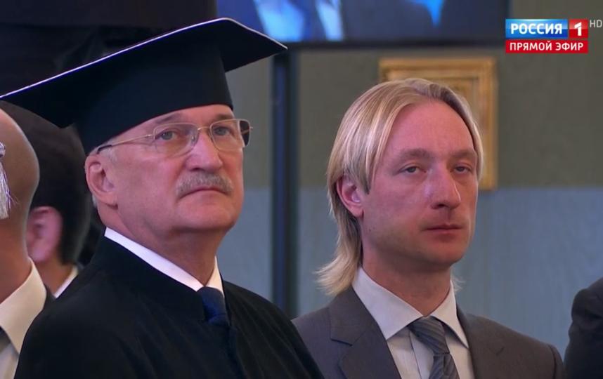 Гости инаугурации Путина. Евгений Плющенко. Фото Скриншот Youtube