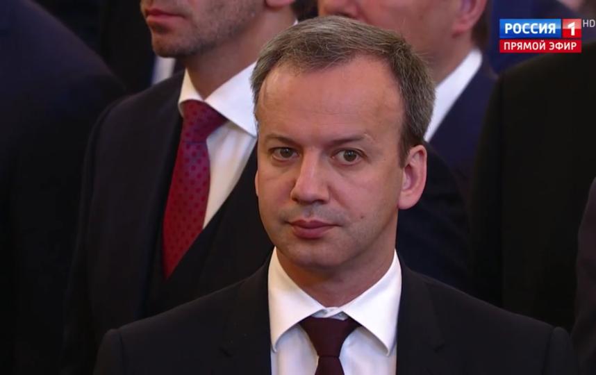 Гости инаугурации Путина. Аркадий Дворкович. Фото Скриншот Youtube