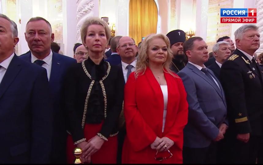 Гости инаугурации Путина. Лариса Долина. Фото Скриншот Youtube