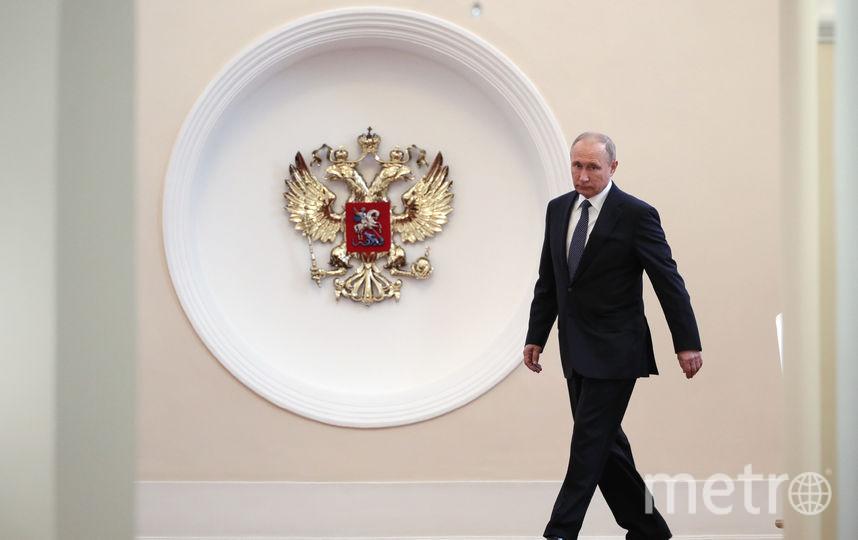 Президент России Владимир Путин в четвертый раз вступает в должность главы государства. Фото AFP