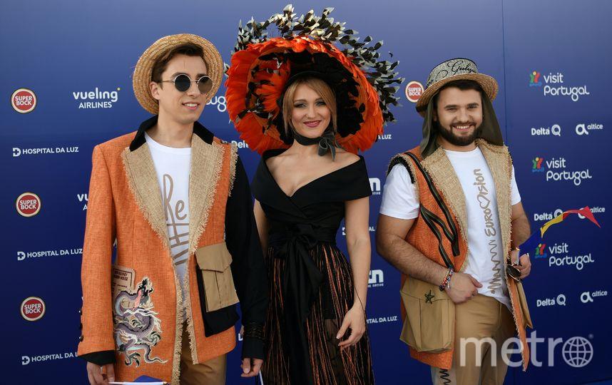 Молдавское трио DoReDos. Фото AFP