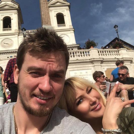 Лера Кудрявцева с Игорем Макаровым. Фото www.instagram.com/leratv