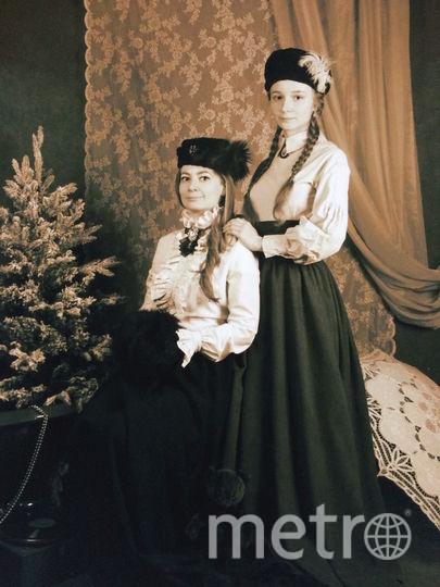 Мама - Инна, дочка - Ирочка Климовы. Фото Анна