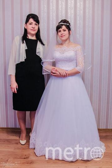 Моя мама Галкина Наталья и я невеста Стряпунина Катерина. Фото Екатерина