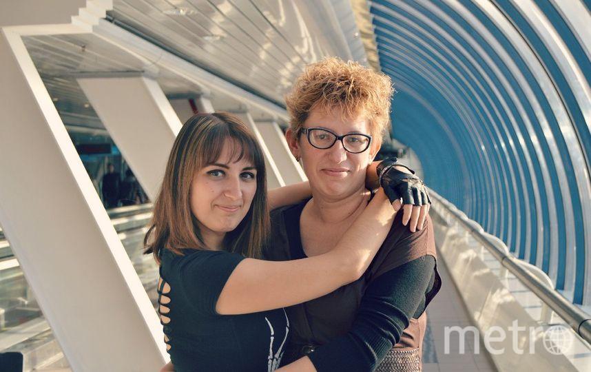 Гладышко Анна Сергеевна (дочка ), Чебакова Наталья Владимировна (мама). Фото Анна
