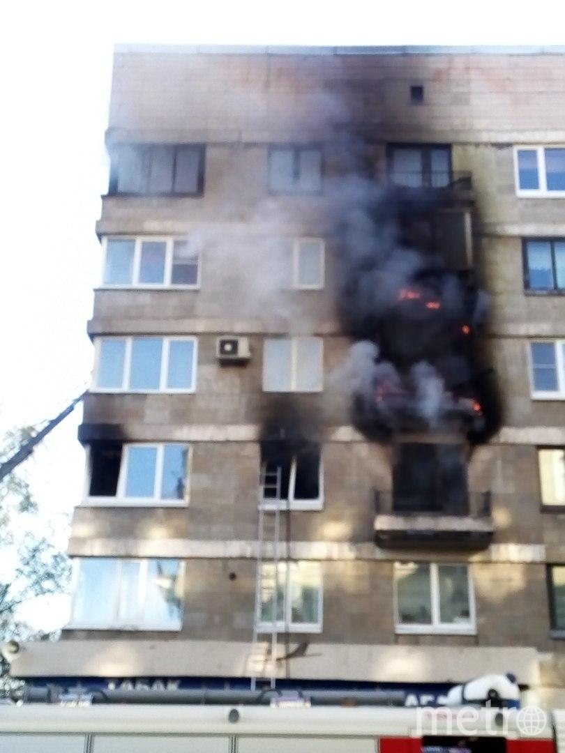 Пожар на Васильевском острове. Фото ДТП и ЧП | Санкт-Петербург | vk.com/spb_today., vk.com