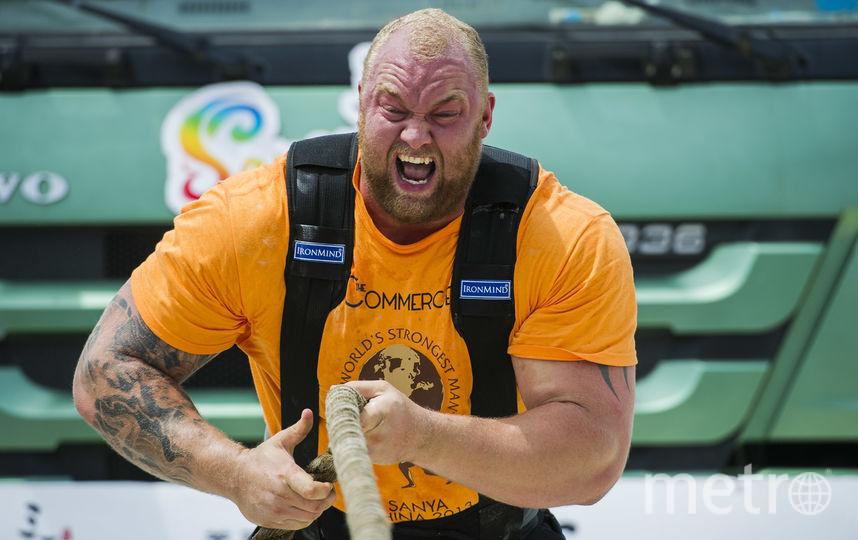 Исландец не первый год участвует в соревнованиях силачей. Фото Getty